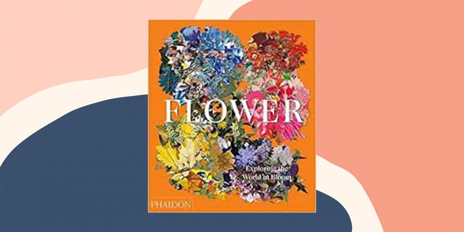 Flower coffee table book