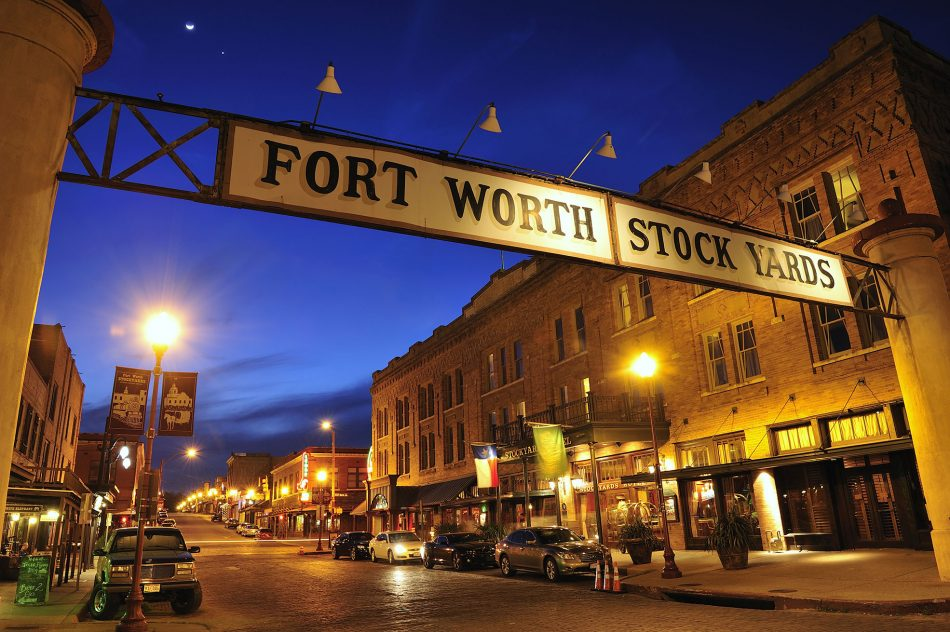 living in fort worth and the stockyards