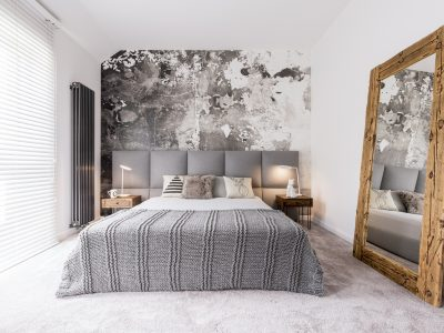 staging a small bedroom