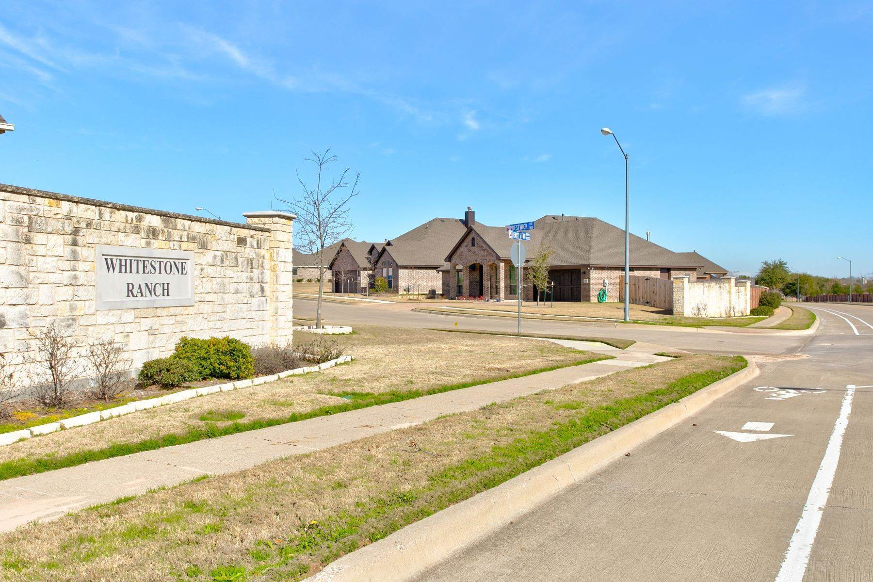 Single Family Homes for Sale at Whitestone Ranch New Construction 7237 Tour Trail Benbrook, Texas 76126 United States