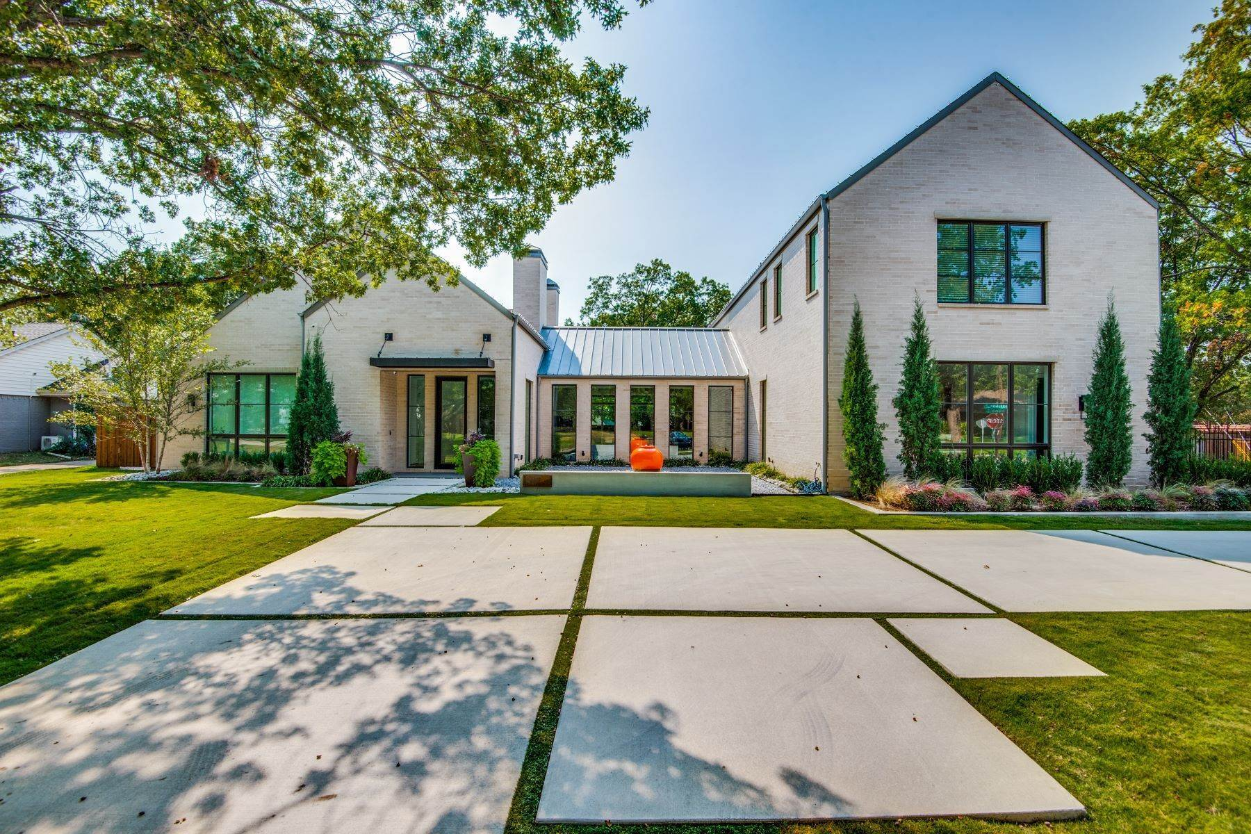 Single Family Homes for Sale at Modern Luxury 4010 Hockaday Drive Dallas, Texas 75229 United States