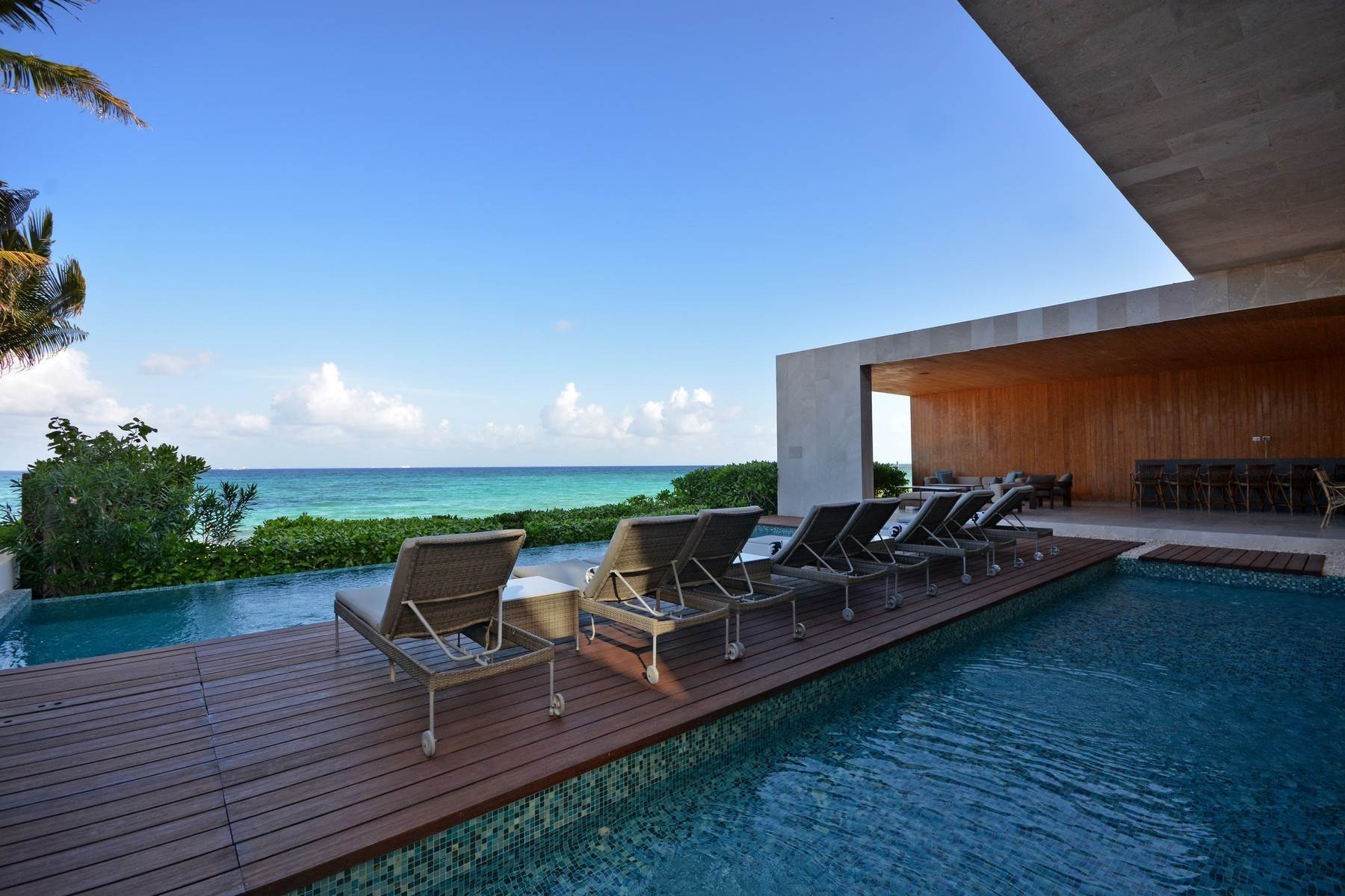 Single Family Homes for Sale at Kin Ich, luxurious beachfront residence, Bahia del Espiritu Santo Avenue Playa Del Carmen, Quintana Roo 77713 Mexico