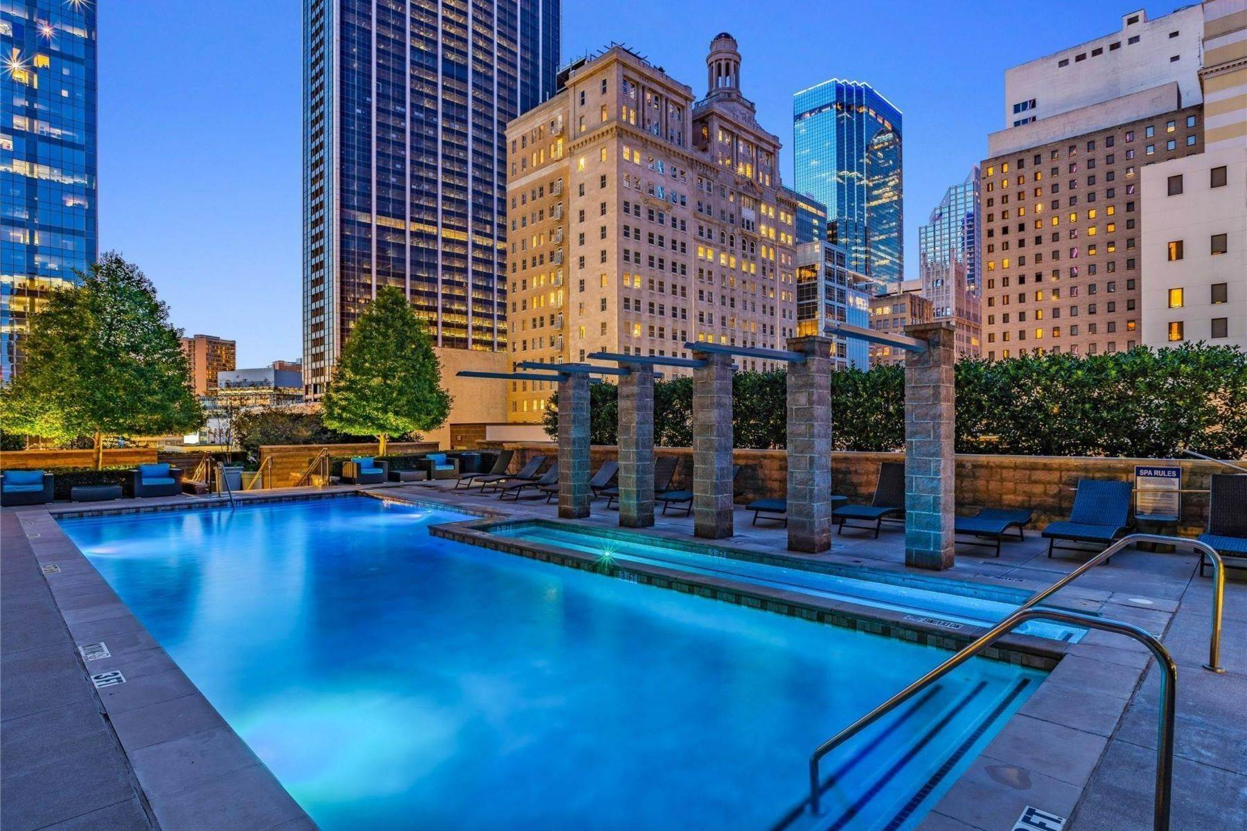 9. Condominiums for Sale at Experience True Urban Living 1200 Main Street, #2404 Dallas, Texas 75202 United States