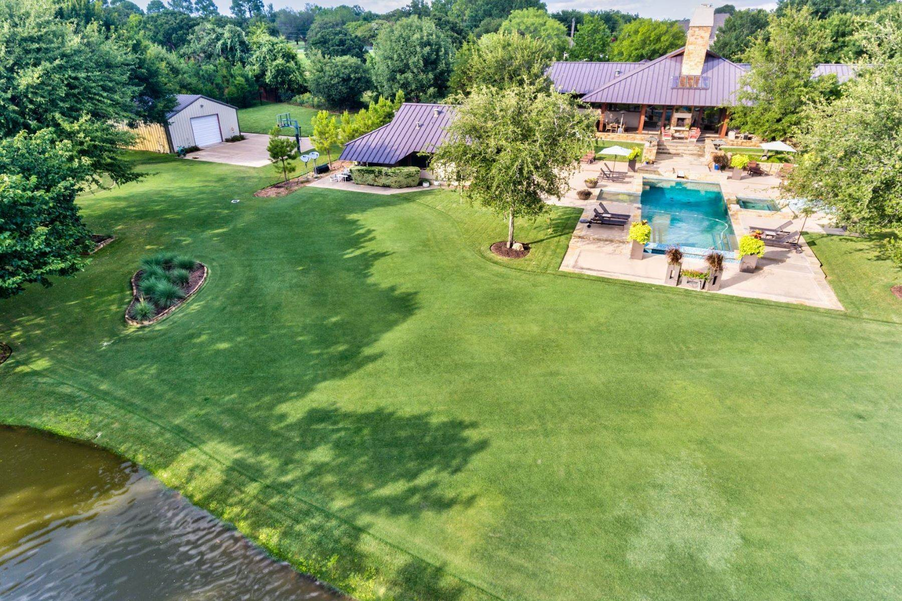 36. Single Family Homes for Sale at Sustainable Ranch Style Home with Mid-Century Flair 4808 Bill Simmons Road Colleyville, Texas 76034 United States