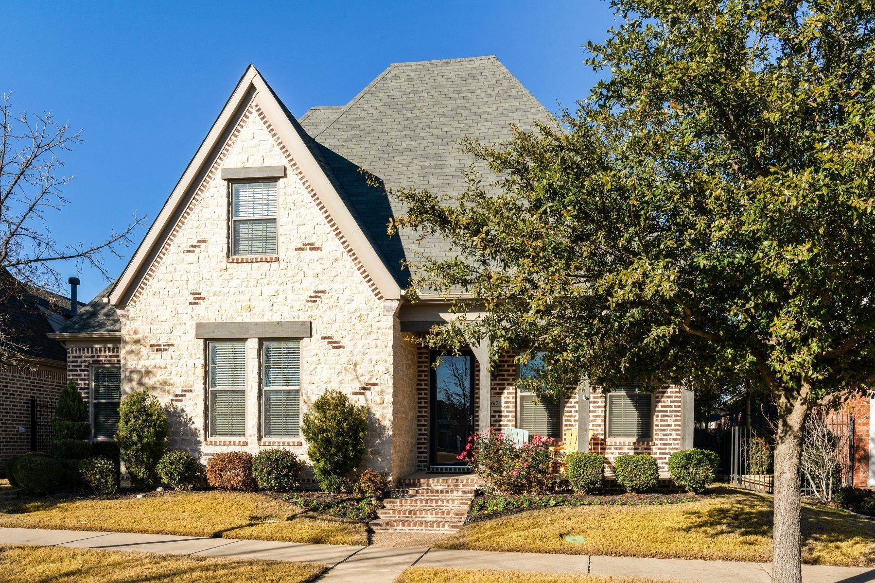Single Family Homes for Sale at Ideal Home with Designer Touches 8617 Nichols Way North Richland Hills, Texas 76180 United States