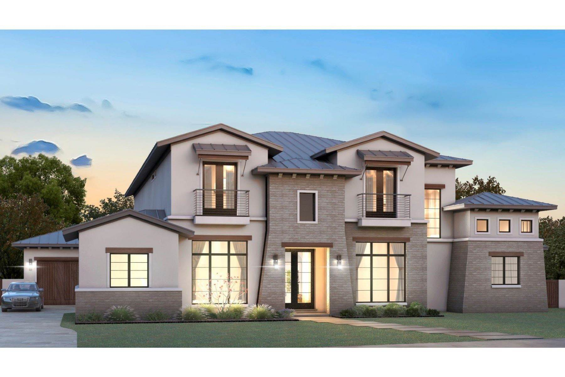 Single Family Homes for Sale at Stunning Modern Estate 1756 Hidalgo Lane Frisco, Texas 75034 United States