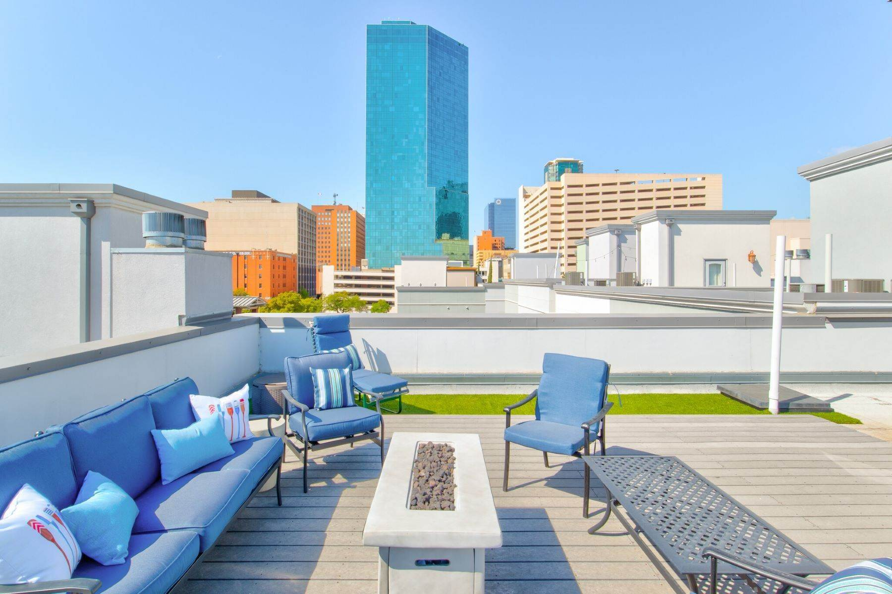 Condominiums for Sale at Sweeping Views of Downtown Fort Worth! 700 Grove Street Fort Worth, Texas 76102 United States