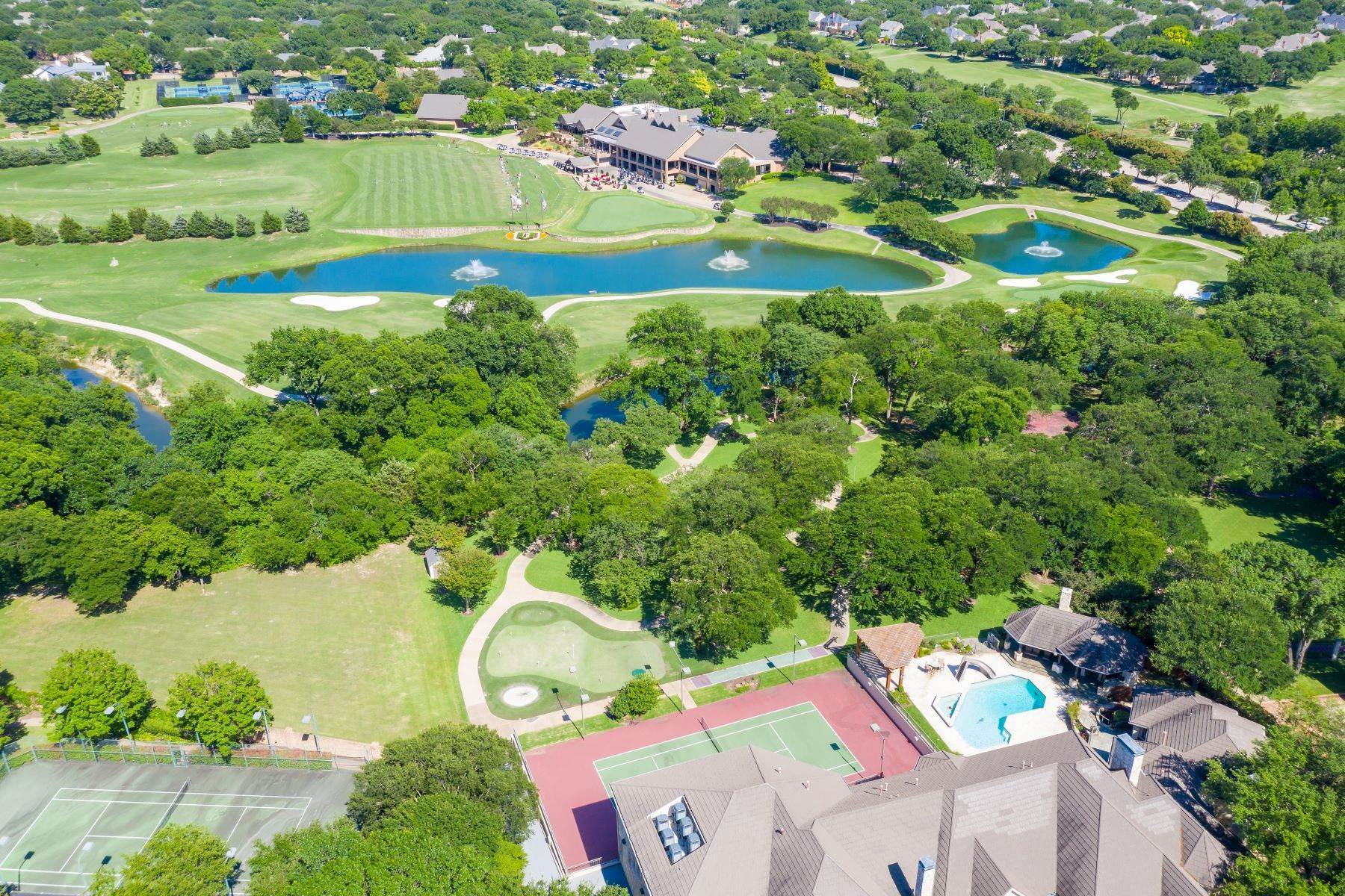 Single Family Homes for Sale at Willow Bend Estate 2104 Willow Bend Drive Plano, Texas 75093 United States